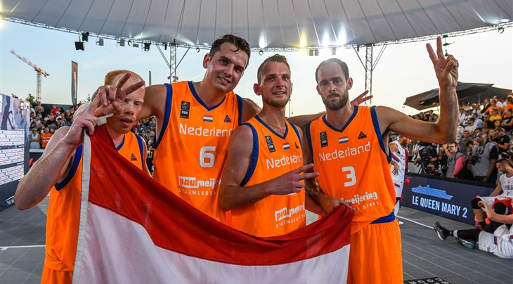 Dutch 3x3 stars Jobse and Van Vilsteren announce retirement