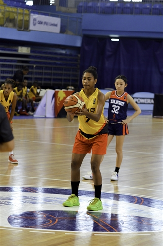 32 Chloe Canovas Miranda (GUM), 7 Normalisa Michelle Dobunaba (PNG)