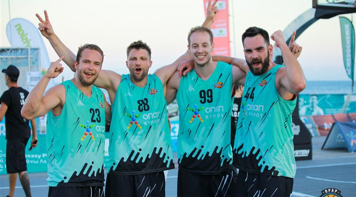 Humpolec finally over the hump at Limassol 3x3 Challenger
