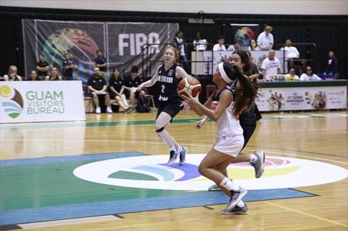 2 Olivia Grace O'neill (NZL), 23 Kirsten Silva (GUM)