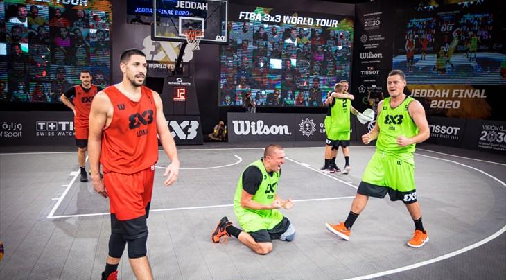 3x3 World tour - Atleti in campo