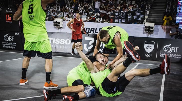 Lasmanis' epic title winner fuels Riga's confidence ahead of FIBA 3x3 World Tour Jeddah Final