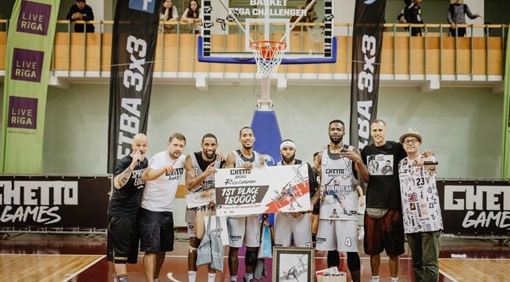 No stopping NY Harlem at Ghetto Basket 3x3 Riga Challenger