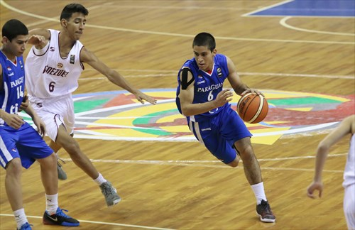 6 Carlos Antivero (VEN), 6 Roberto Mercado (PAR)
