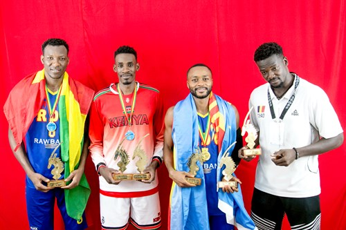 9 Tylor Ongwae (KEN), 7 Maxi Munanga Shamba (COD), 8 Jordan Sakho (COD)