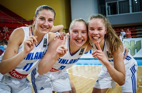 5 Sanni Aino Hannele Tuomisto (FIN), 9 Maija Katriina Kuisma (FIN), 11 Venla Amanda Määttänen (FIN)