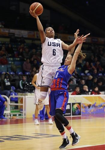 8 Giolibeth Perez (PUR), 6 Tyasha Pearl Desiree Harris (USA)