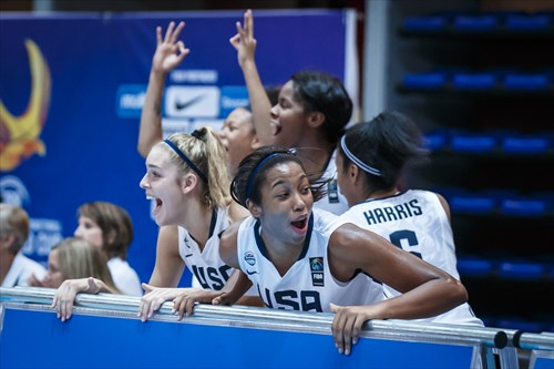 4-0: Defending #FIBAU19 champions USA Basketball marched into the Quarter-Finals with no issues