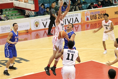 7 James Wagner (CAN), 11 Nickeil Walker (CAN), 4 Jorge Pacheco (PUR)