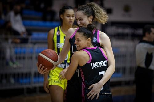 11 Aleksandra Crvendakic (LYON), 7 Ingrid Tanqueray (LYON)