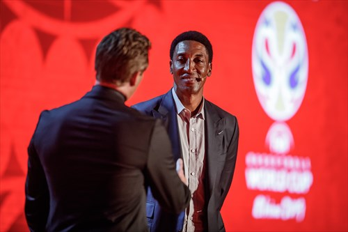 World Cup 2019 Qualifiers Draw - Scottie Pippen
