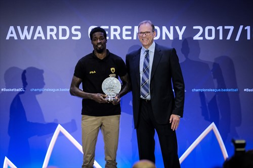 Basketball Champions League 2017/18 Award Ceremony