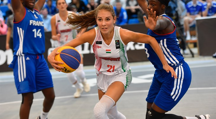 Twenty-four teams from 17 countries to compete at FIBA 3x3 Europe U18 Cup Hungary 2018