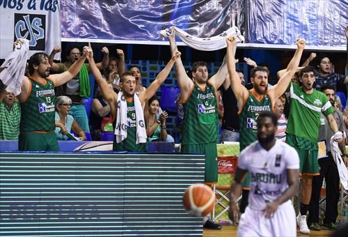 5 Ivan Catani (ARG), 26 Sebastian Uranga (ARG), 9 Mateo Bolivar (ARG), 4 Emilio Dominguez (ARG), 13 David Doblas (ARG)