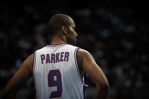 9 Tony Parker (FRA)