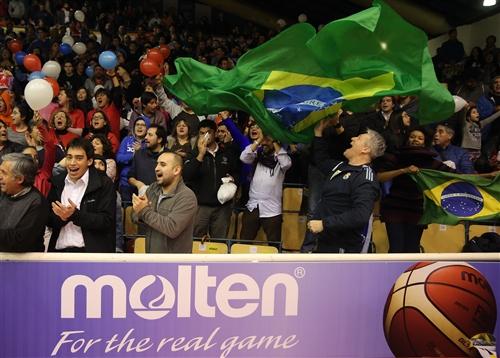 Brasil Fan Celebrates