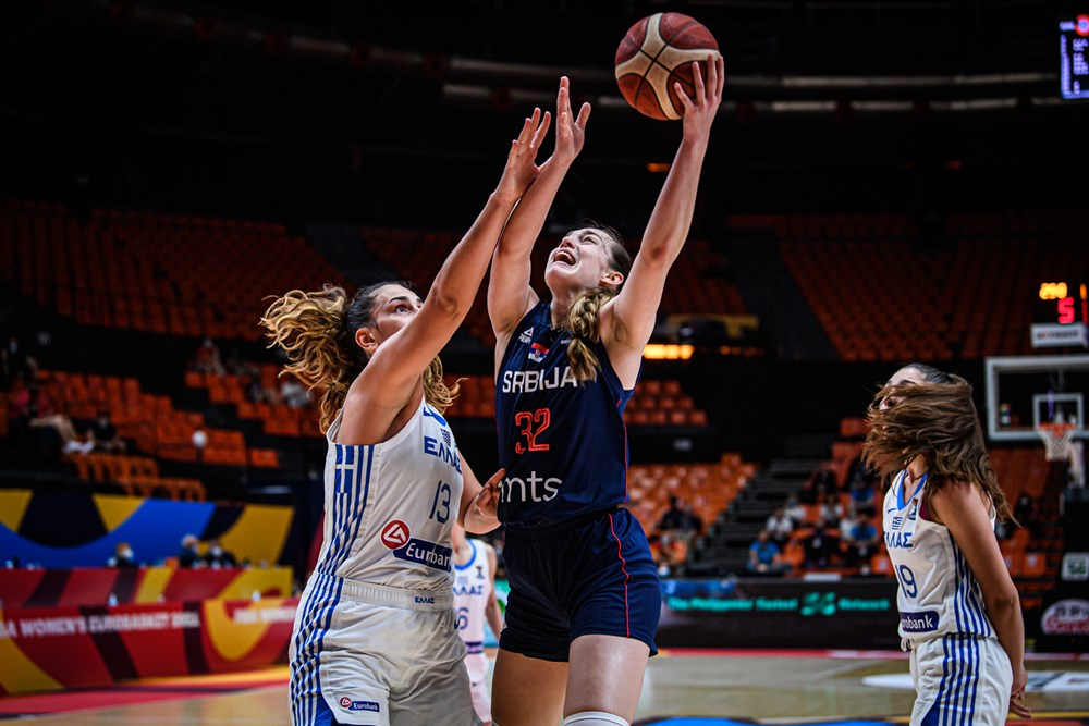 Serbia derrota a Grecia en la segunda jornada del Eurobasket de España y Francia