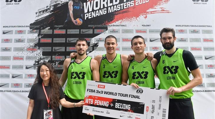Liman Tesla Voda win their 3rd FIBA 3x3 World Tour Masters of the season in Penang