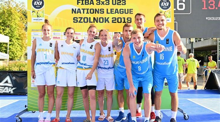 Impressive Ukraine stay on top of FIBA 3x3 U23 Nations League Center-East Europe Conference 2019
