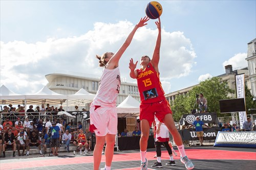 15 Irene San Román (ESP), Spain vs Russia