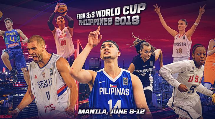 FIBA 3x3 World Cup 2018 dates announced