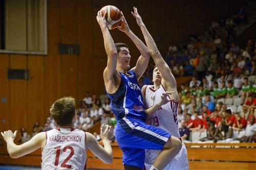 19 Evgenii Litvinov (RUS), 4 Tomer Levinson (ISR), Russia v Israel, Final