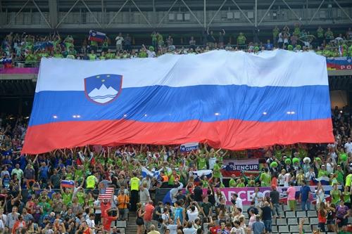 Slovenian fans