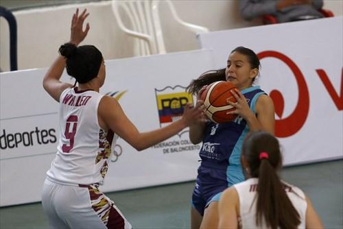 8 Jillian Molina (ECU), 9 Daniela Wallen (VEN)