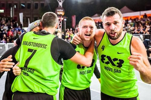 7 Dejan Majstorovic (SRB), 4 Tamás Ivosev (SRB), 3 Marko Savić (SRB), Novi Sad vs Liman