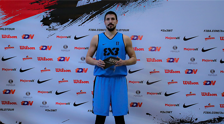 Top scorer Ratkov named MVP at FIBA 3x3 World Tour Mexico City Masters 2017