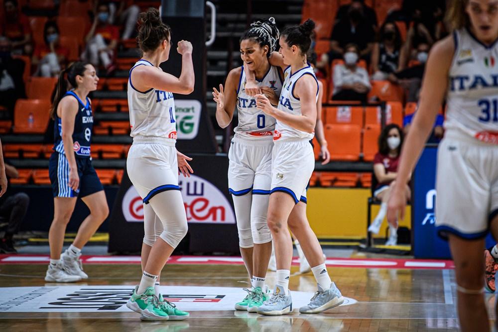 EuroBasket Women, l'ItalBasket si impone contro la Grecia e chiude seconda il Girone B