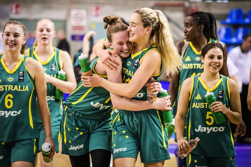 Australia squeezed past Latvia 61-56 after executing down the stretch