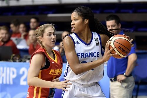 22 Emmanuelle Tahane (FRA), FRA vs ESP