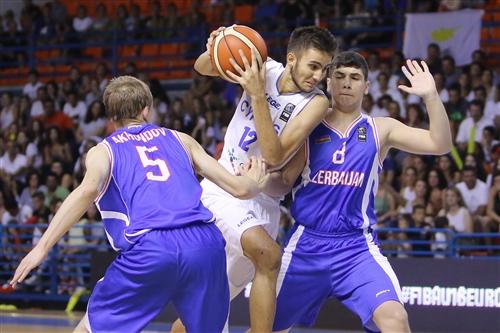 5 Alex Akhundov (AZE), 8 Nadir Asadov (AZE), 12 Yiannis Achilleos (CYP)