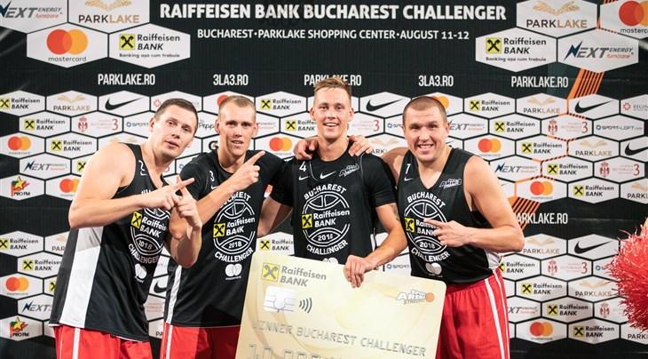 Riga go back to back at Raiffeisen Bank Bucharest 3x3 Challenger