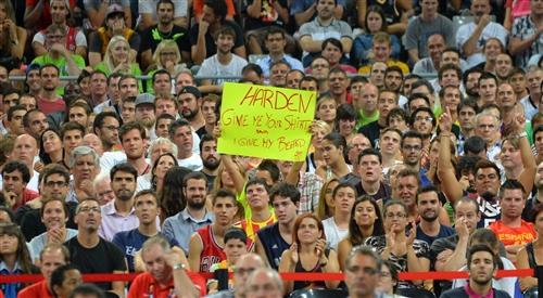 James Harden fans