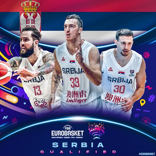 Serbia qualified for FIBA EuroBasket 2022 on February 19, 2021