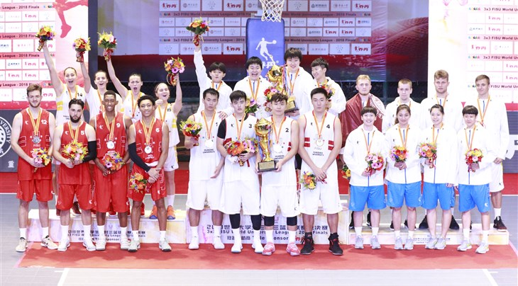 Chinese triumph at 3x3 FISU World University League 2018.