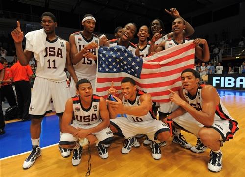 USA U17 men - Jubilation
