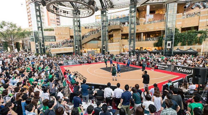 Tokyo in Olympic mode at 3x3 .EXE Premier League final