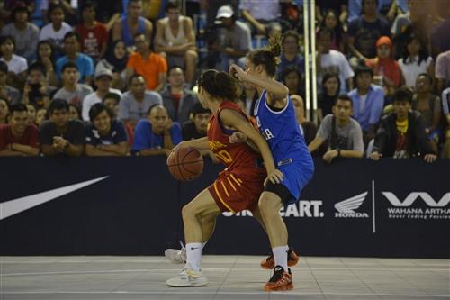 #10 Laia Flores (Team Spain) vs #4 Francesca Gambarini (Team Italy)