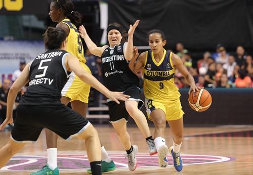 9 María PALACIO (Colombia); 11 Melisa GRETTER (Argentina)