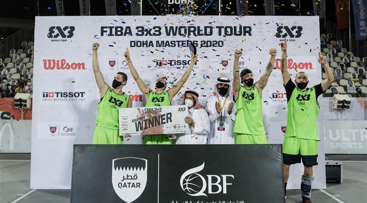 Riga win FIBA 3x3 World Tour Doha Masters 2020 on unbelievable Tissot Buzzer Beater