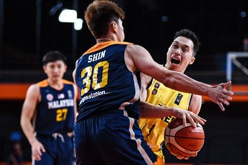 27 Chun Hong Ting (MAS), 30 Zhi Shin Chin (MAS)