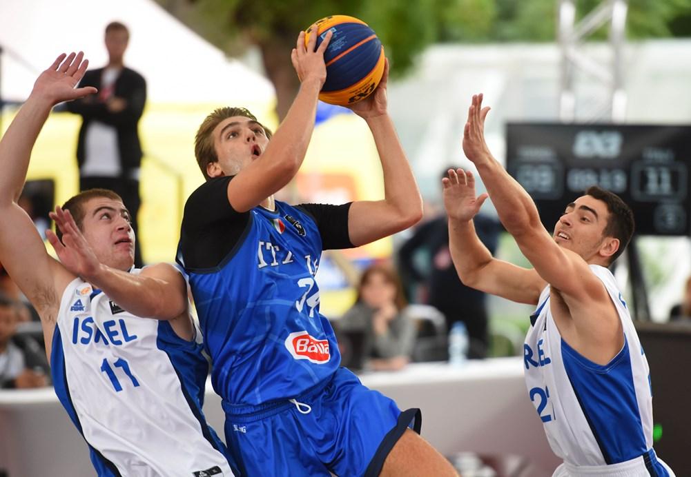 Picarelli brilla alla FIBA 3x3 Europe Cup U18