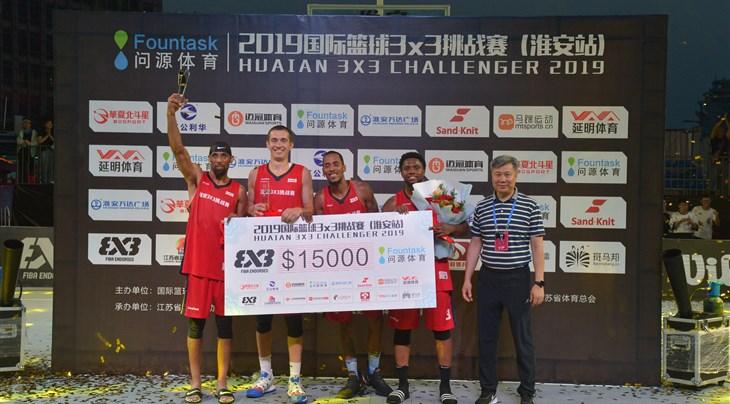 NY Harlem continue hot streak at Huaian 3x3 Challenger