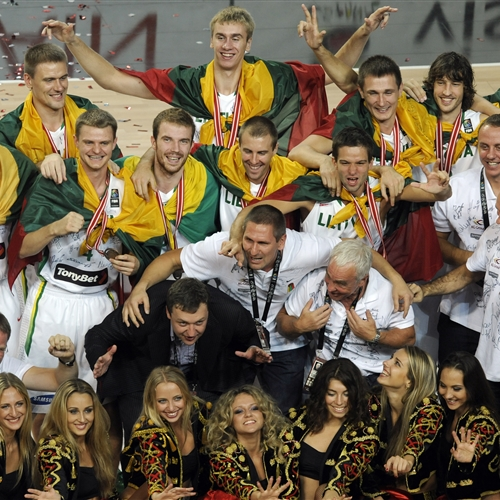 Bronze medalists (Lithuania)