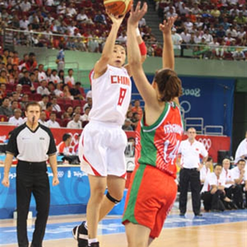 Avaraged 17.9 ppts, Miao was the top scorer in 2008
