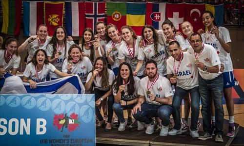 Bronze medal winners, Israel