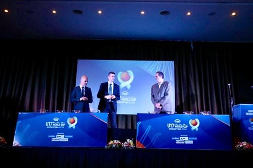 Draw ceremony - FIBA U17 Basketball World Cup 2018